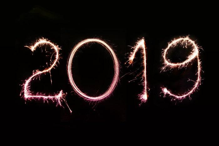 Au revoir 2018, bonjour 2019 !