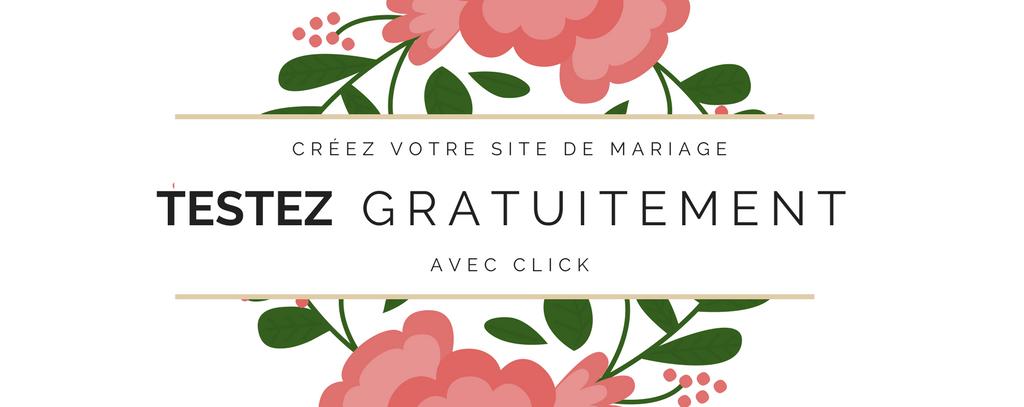 site de mariage click