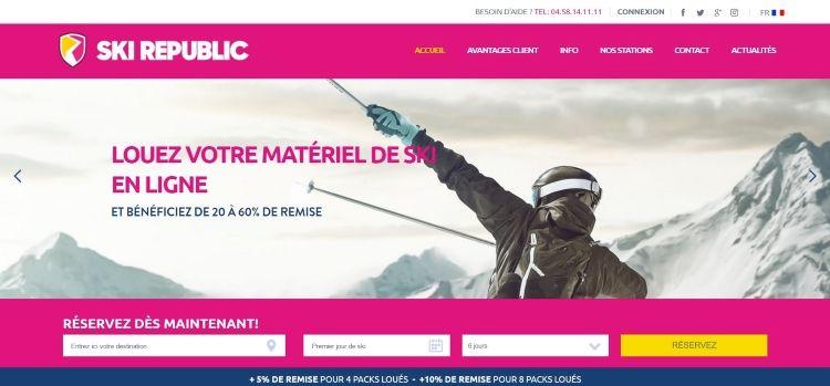 homepage ski republic